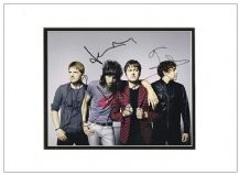 Kasabian Autograph Signed Photo